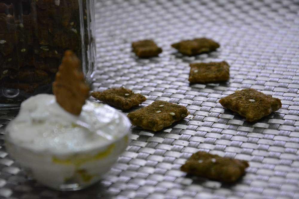 מיני קרקר זעתר מושלמים מ-5 מצרכים בלבד
