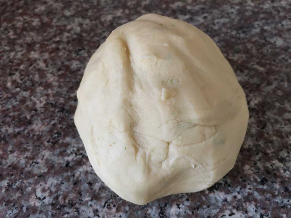 בצק העוגיות מוכן