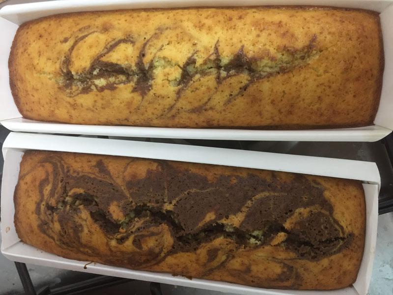 עוגות שיש עם דוגמאות שונות