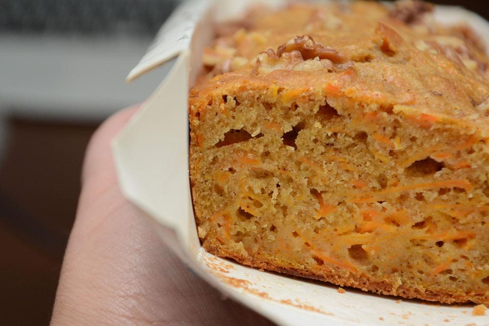 עוגת גזר בחושה בריאותית, רכה ונימוחה