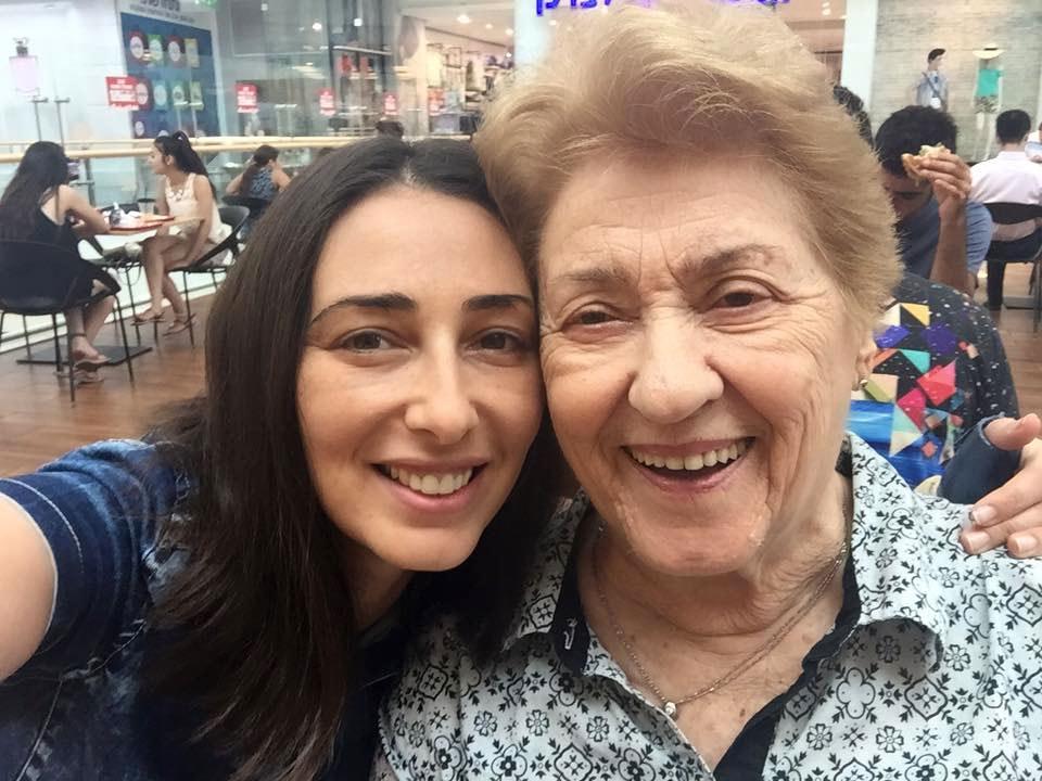 אני וסבתא