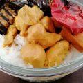 חזה עוף מוקפץ בקרם קוקוס ואבקת קארי צהובה - מושלמת על מצע של אורז לבן אחד אחד