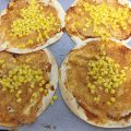 פיצה טורטיה טבעונית מממרח קשיו - טעימה כל כך (וממש לא רק לטבעונים!)
