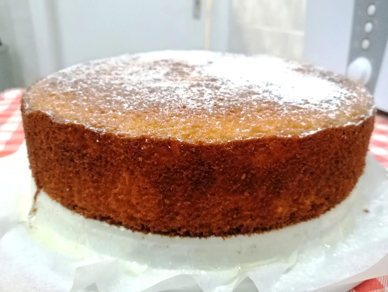 עוגת לייקח לימון גבוהה, יפה וטעימה בטירוף